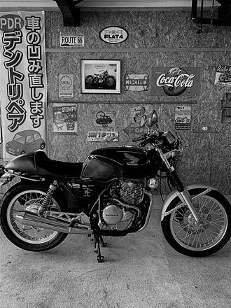 オーナーのバイク